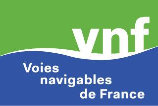 Œuvre collective à distance VNF : Logo de Voies navigable de France VNF pour Fresque Télétravail Digitale aNa artiste