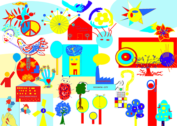 animation fresque teletravail