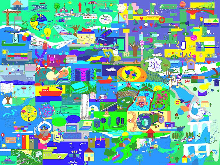 Œuvre Digitale Commune en Télétravail